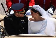 Ce i-a şoptit la ureche Prinţul Harry lui Meghan Markle, înainte de slujbă