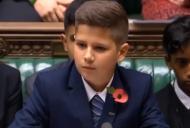Cine este copilul roman care a uimit Parlamentul Britanic. Are 11 ani si a vorbit in 3 limbi