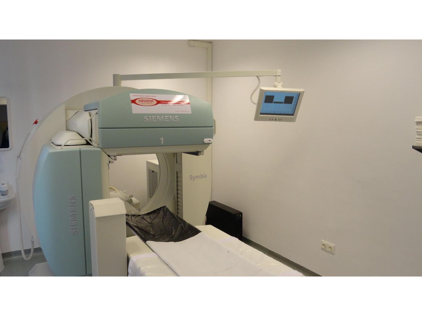 Hiperdia - Centre de diagnostic imagistic si laborator - scintigrafie.JPG