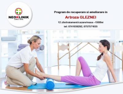 Recuperare Medicala in Artroza Gleznei la NeoKlinik in statiunea Moneasa