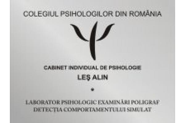 CABINET INDIVIDUAL DE PSIHOLOGIE LES ALIN si LABORATOR TESTARI POLI... - Alin_LES_-_Cabinet_Individual_de_Psihologie.jpg